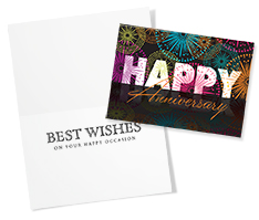 Happy Reflection Anniversary Card