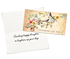 Vintage Well Wishes Card