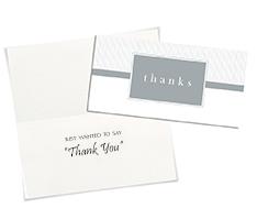 Simple Thanks Card