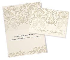 Intricate Sympathy Card