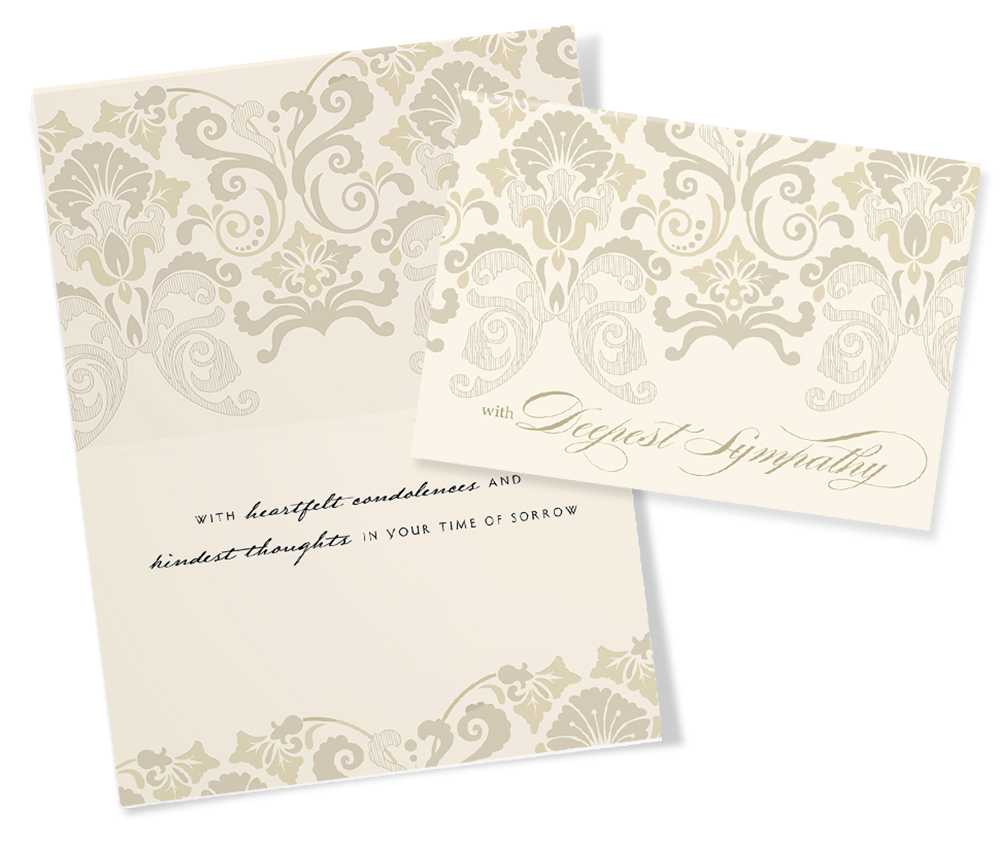 With sympathy 20 assorted sympathy greeting cards intricate sympathy card kristyandbryce Images