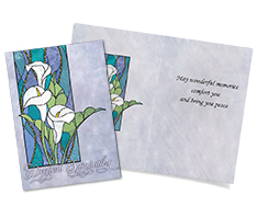 Stained Glass Sympathy Card