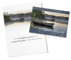 Lakeside Sympathy Card