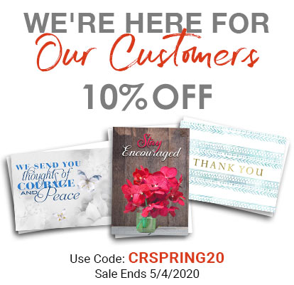 We're Here for Our Customers. 10% OFF. Use Code: CRSPRING20. Sale Ends 5/4/2020