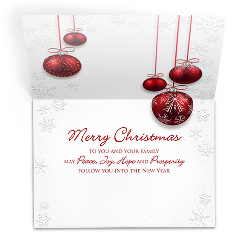 Image of a stock greeting card sample