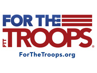 For the Troops logo