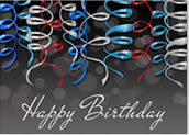 Birthday Streamers