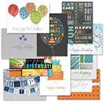 Traditional Birthday Card Assortment (50)