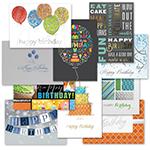 Traditional Birthday Card Assortment (50)