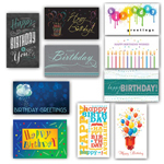 Birthday Card Assortment (100)