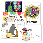 Birthday Humor Assortment (50 Cards)