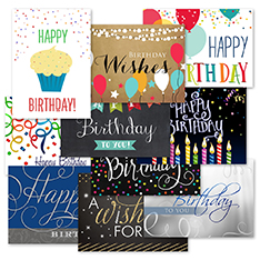 Birthday Wishes Assortment (50)