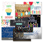 Birthday Wishes Assortment (100 Cards)