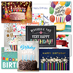 Colorful Birthday Assortment (50)