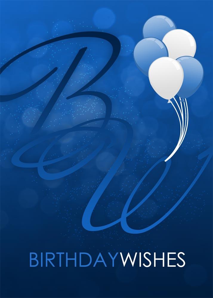 Birthday Flamingos Birthday from CardsDirect – Corporate Birthday Greetings