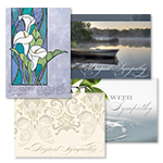With Sympathy Assortment (20 Cards)